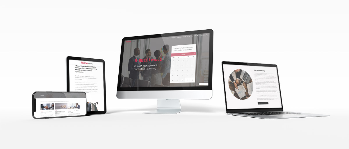 Primo Consulting | Website Redesign