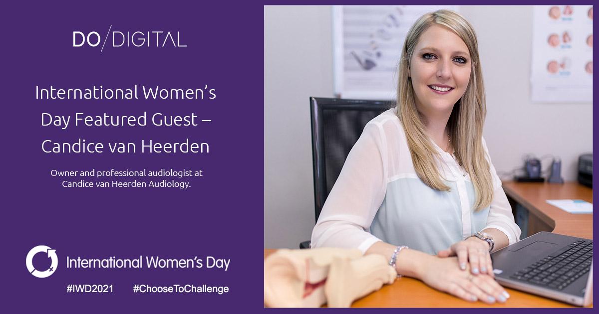 Do Digital's International Women's Day Featured Guest – Candice van Heerden