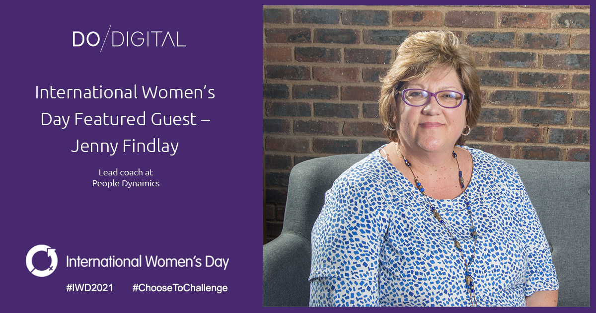 Do Digital's International Women's Day Featured Guest – Jenny Findlay, People Dynamics; Emperor's Palace – Peermont Group